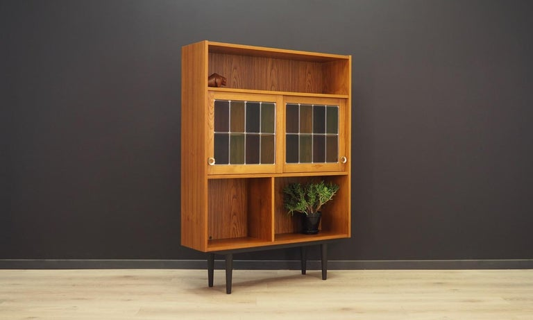 Mid-Century Modern Bookcase Teak Vintage Danish Design For Sale