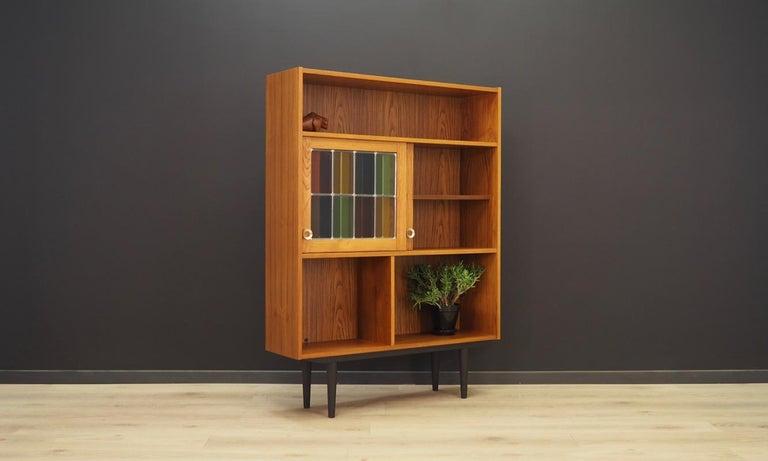 Bookcase Teak Vintage Danish Design For Sale 2