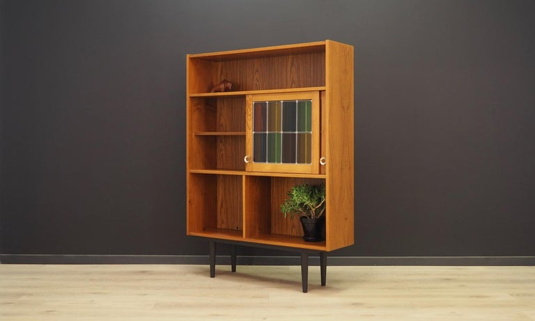 Bookcase Teak Vintage Danish Design For Sale 3