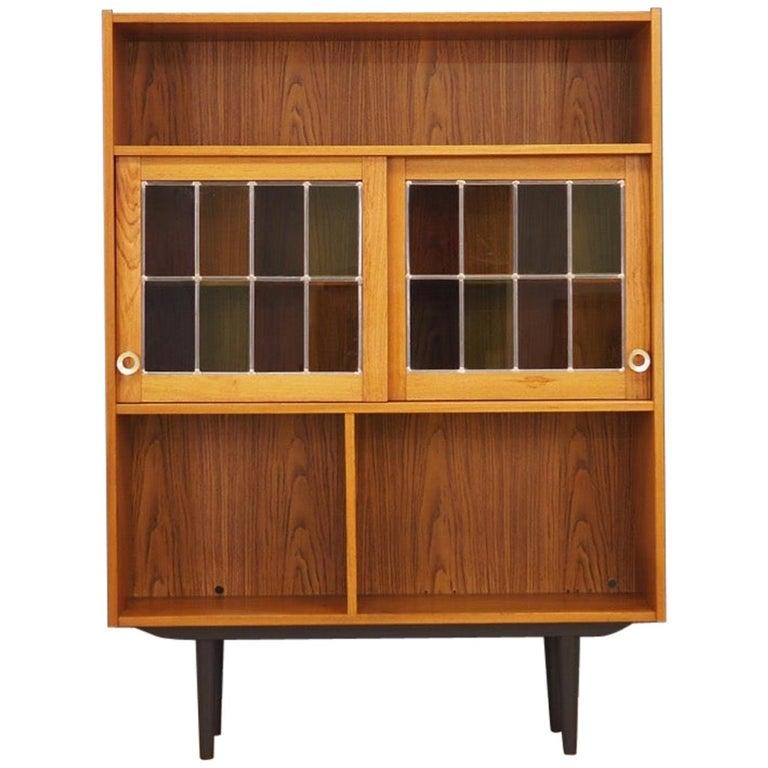 Bookcase Teak Vintage Danish Design For Sale