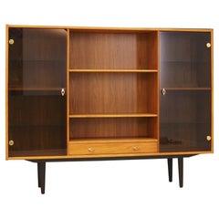 Bookcase Teak Vintage Danish Design Retro, 1960s