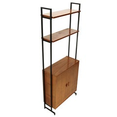 Bookcase with Storage Compartment, 1960s