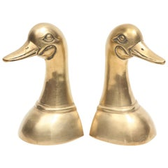 Bookends, Brass Ducks
