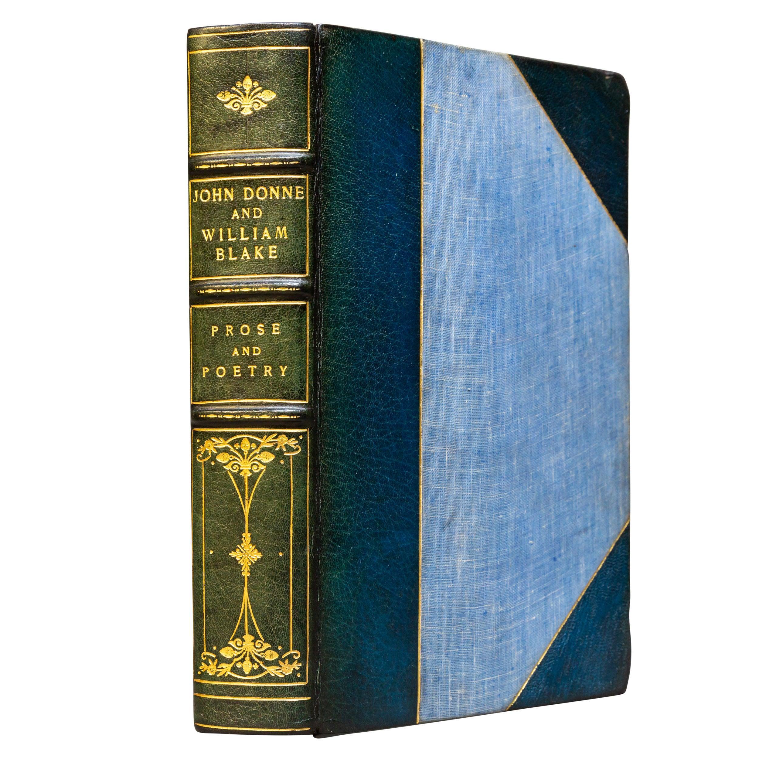 'Books' 1 Volume, John Donne & William Blake, The Complete Poetry