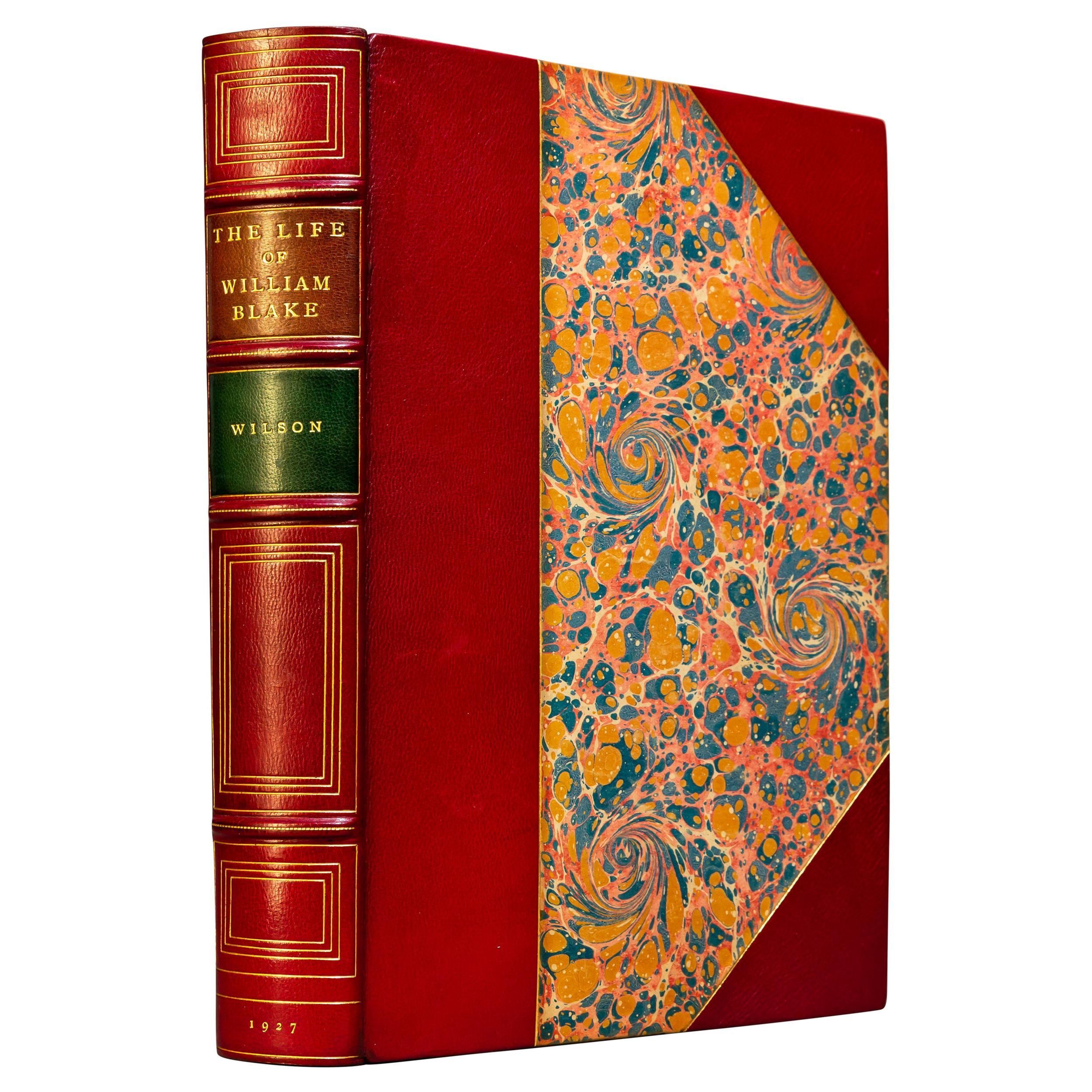 'Books' 1 Volume, Mona Wilson, The Life Of William Blake