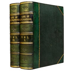 'Books' 2 Volumes, J.E. Ritchie, Esq, The Life & Discoveries of D. Livingstone