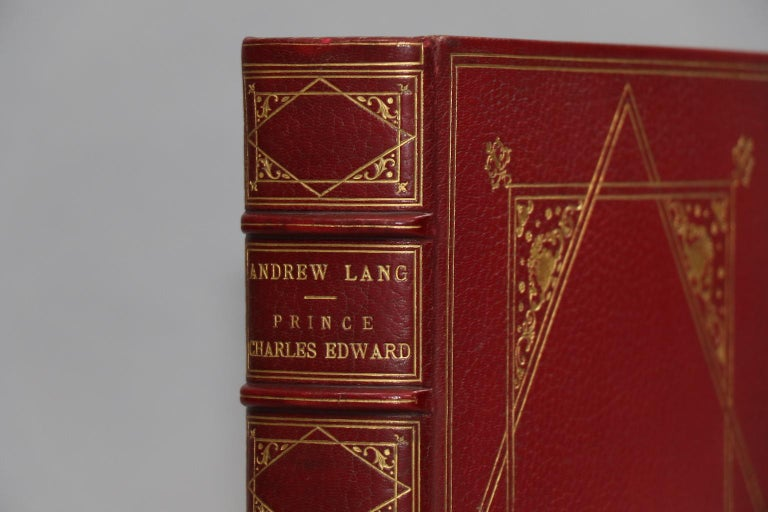 Leatherbound. One volume. Folio. Limited to 350 copies on Japanese Vellum. Bound in full red morocco by Durand with inner dentelles and marbled endpapers. Plates in 2 states (frontispiece is hand-colored). Very good. Published in Paris by Goupil &
