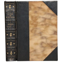 """Books, Capt. Alfred Thayer Mahan's """"the Life of Nelson...""""  First Edition!"""