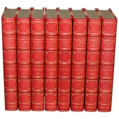 Books, Celebrated Crimes, Alexander Dumas, Rare Books, Leather-bound
