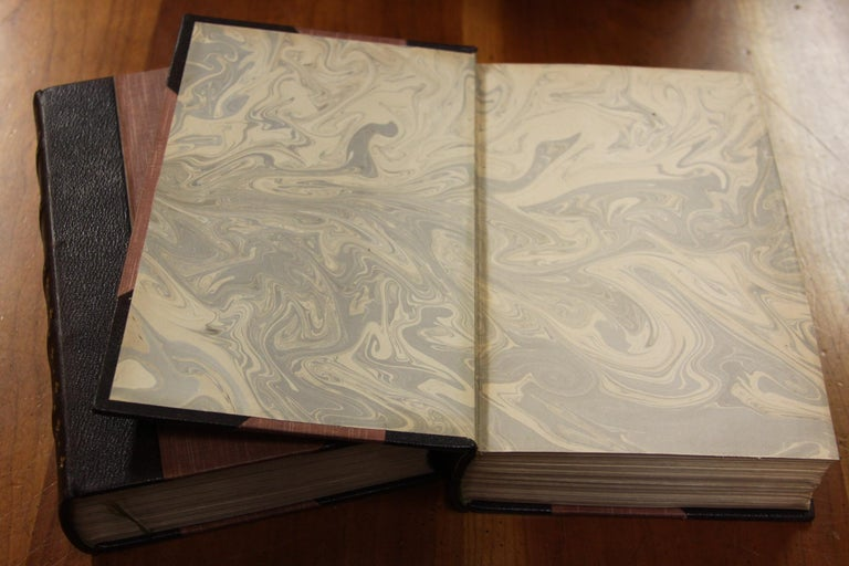 Books, Charles Dickens Complete Writings, Leather-Bound Antique Collection Set For Sale 2