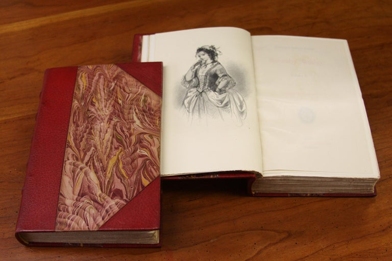 20th Century Books. Leather Bound  Antiques Collection. The Writings of Charles Dickens For Sale