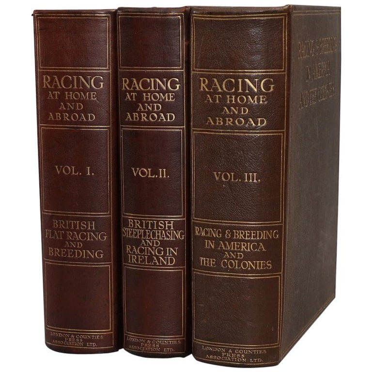 "Books, Charles Richardson's ""Racing at Home and Abroad"" Limited Edition For Sale"