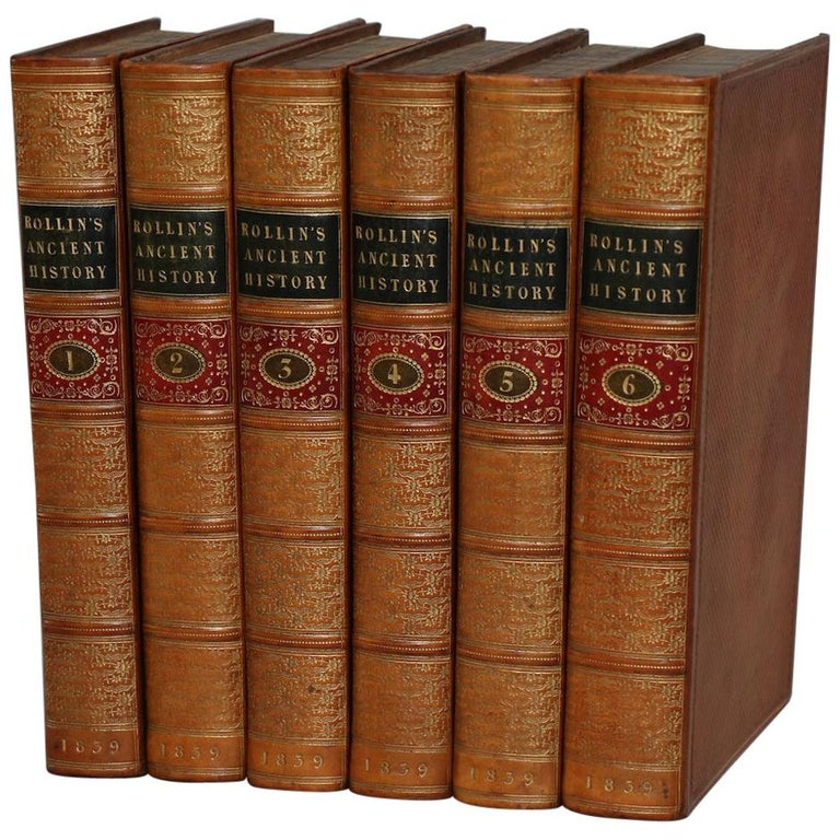 """Books, Charles Rollin's """"The Ancient History..."""" For Sale"""