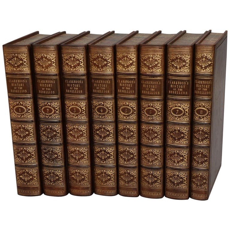 """Books, Clarendon's """"the History of the Rebellion and Civil Wars in England"""" For Sale"""