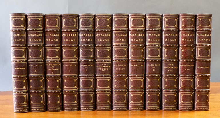 Books, Complete Works of Charles Reade In Excellent Condition For Sale In New York, NY