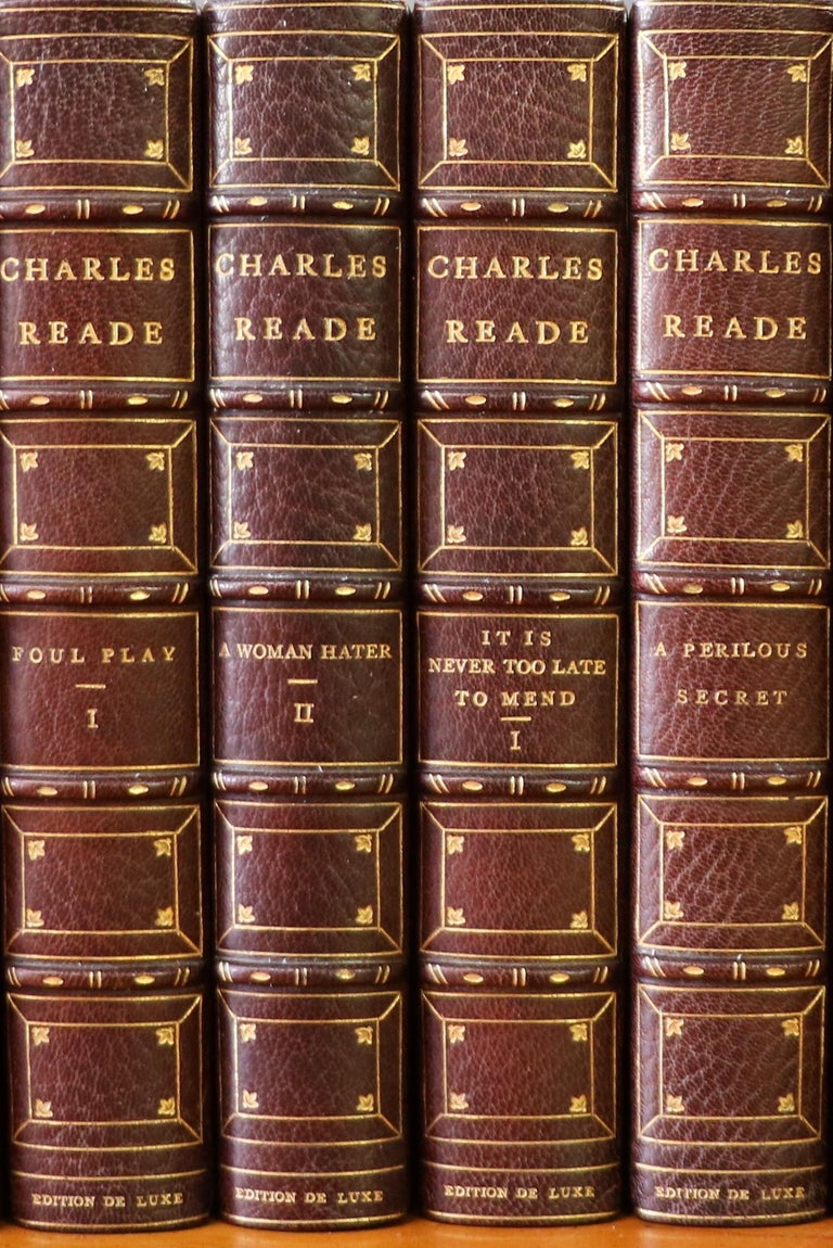 20th Century Books, Complete Works of Charles Reade For Sale