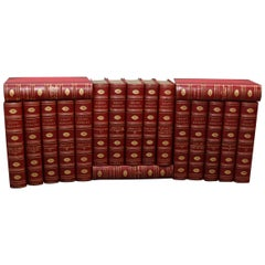 Collections of Leather bound Antiques  Books , The Royal Court Memoirs
