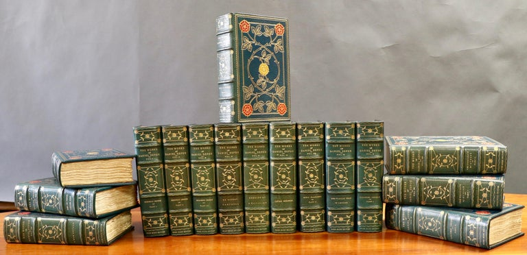 Books, Daniel Defoe, Complete Works In Excellent Condition For Sale In New York, NY