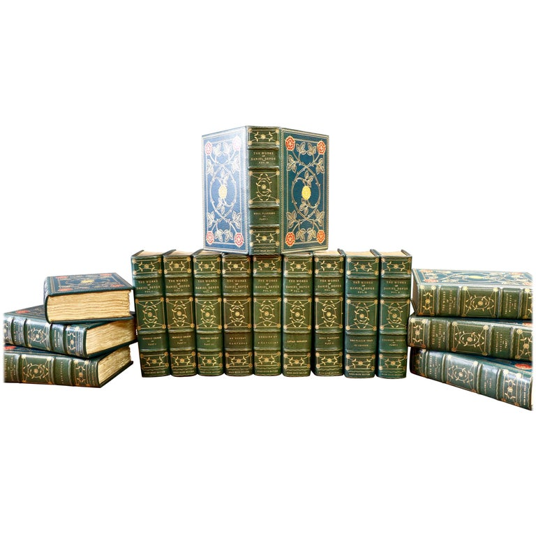 Books, Daniel Defoe, Complete Works For Sale