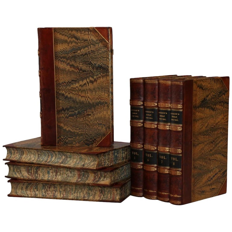 "Books, Edward Gibbon's ""The History of the Decline and Fall of the Roman Empire"" For Sale"