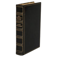 """Books, Ernest Hemingway's """"Men Without Women"""" First Edition"""