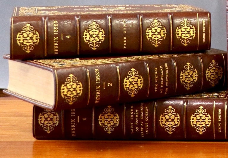 Books, Henrik Ibsen, Complete Works In Excellent Condition For Sale In New York, NY