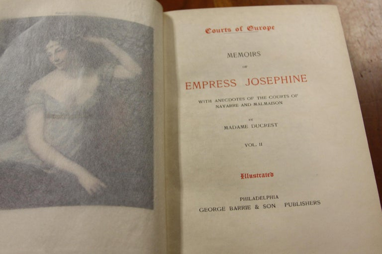 Collections of Leather bound Antiques  Books , Historic Memoirs of the Europe  For Sale 4