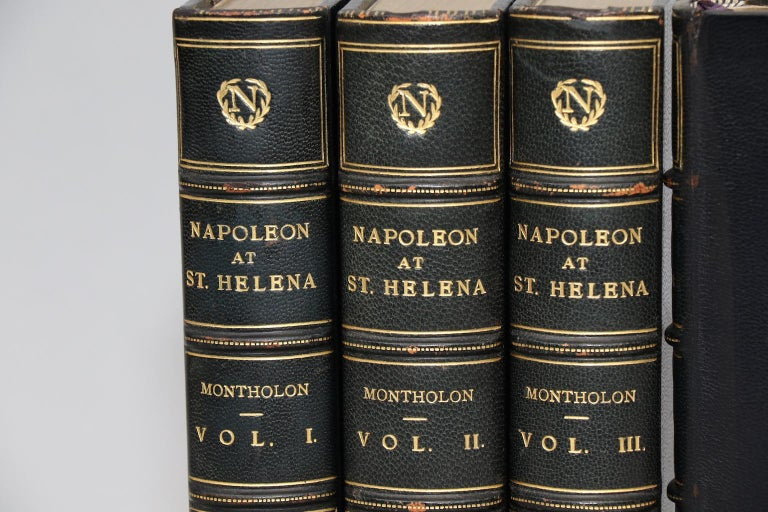 English Books, History of the Captivity of Napoleon at St. Helena First Edition