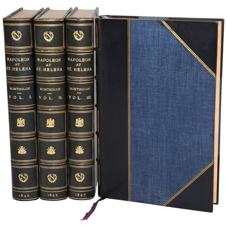 Books, History of the Captivity of Napoleon at St. Helena First Edition