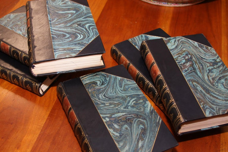 Books, History of the War in the Peninsula, Antique Leather-Bound Antique Set For Sale 1