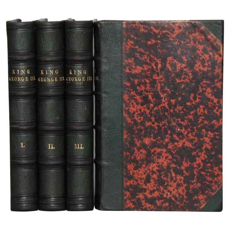 """Books, Horace Walpole's """"Memoirs of the Reign of King George The Third"""" For Sale"""