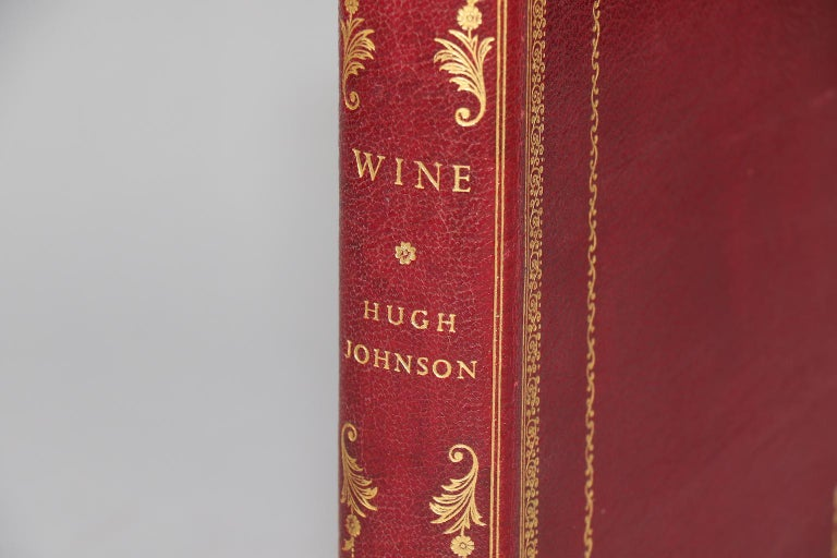 First Edition. Leatherbound. One volume. Quarto. Bound in full wine morocco with all edges gilt and gilt tooling on spine and covers. With line drawings by Owen Wood. Inscribed to Bryan and Naniette by the author. Very good. Published in London by