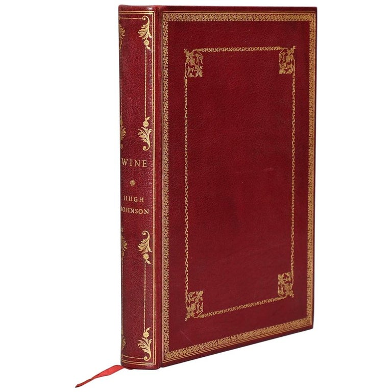 """Books, Hugh Johnson's """"Wine"""" First Edition For Sale"""
