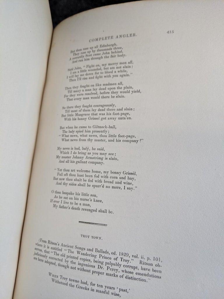 Dyed Books, Izaak Walton & Charles Cotton's