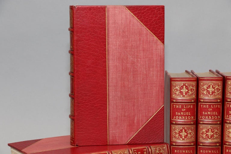 Dyed Books, James Boswell's