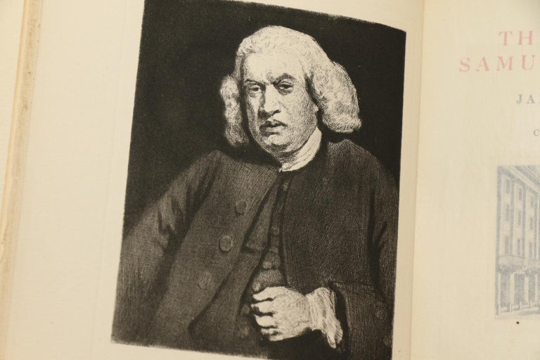 Leather Books, James Boswell's