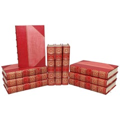 """Books, James Boswell's """"Life of Dr. Johnson"""" Limited Temple Bar Edition"""
