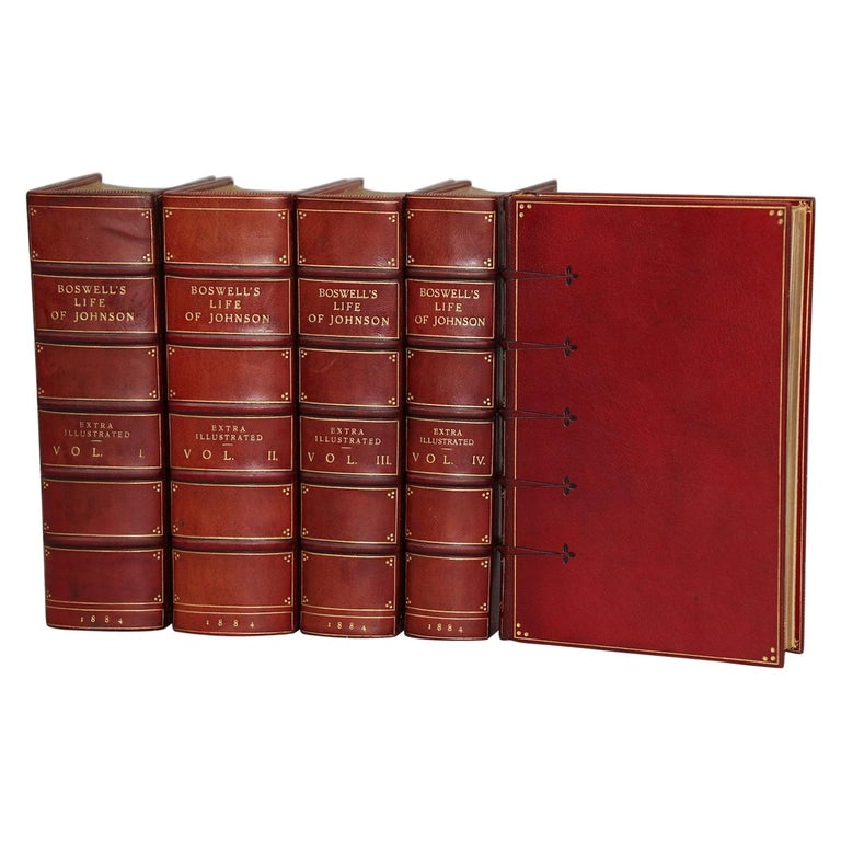 "Books, James Boswell's ""Life of Samuel Johnson...""  Extra-Illustrated Edition For Sale"