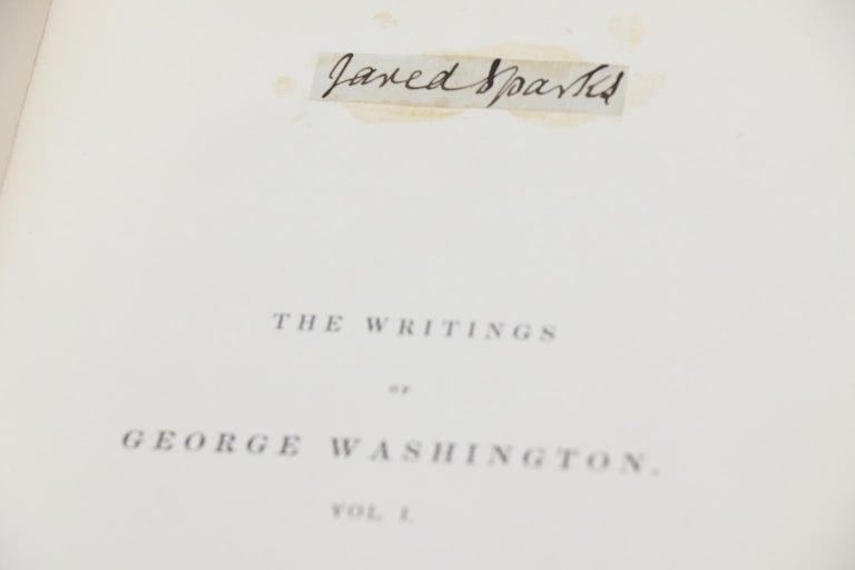Books, Jared Sparks'