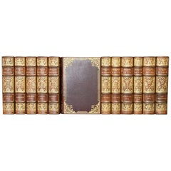 Books, John Keats and Percy B. Shelly, The Complete Works, Antique Leatherbound