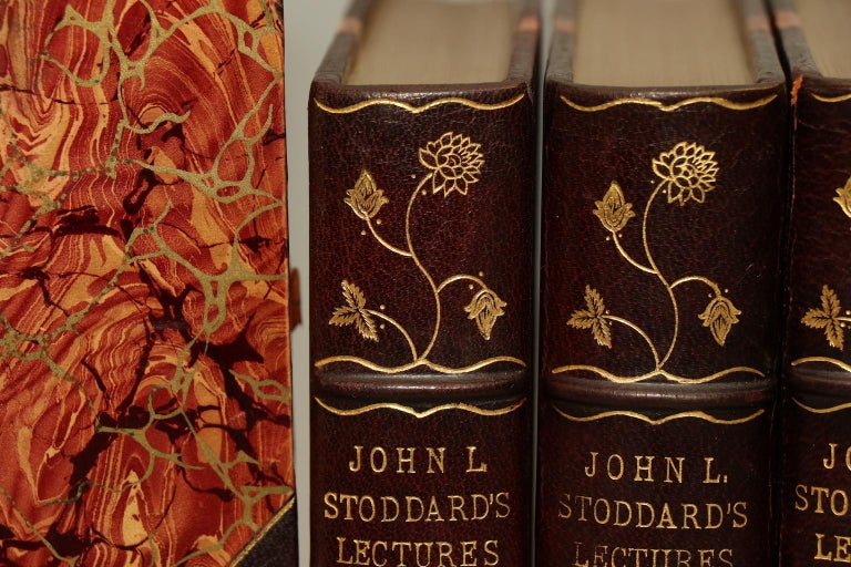 Books, John L. Stoddard's Lectures Art Edition In Good Condition In New York, NY
