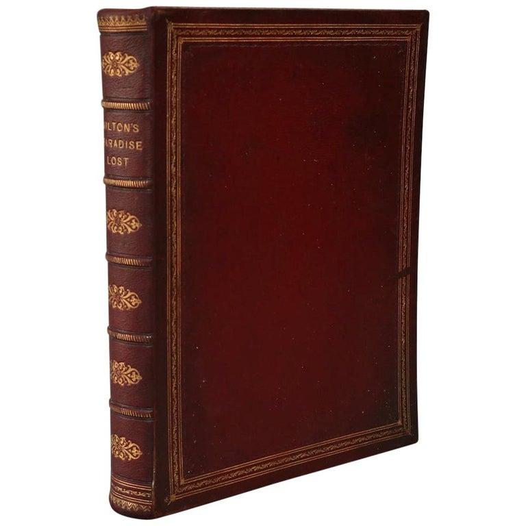 "Books, John Milton's ""Paradise Lost""  Full-Page Illustrations! For Sale"
