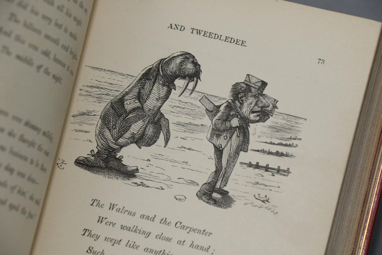 Leather Books, Lewis Carroll's
