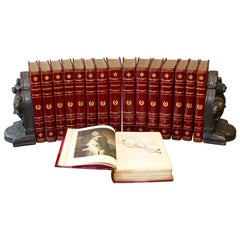 Books. Life of Napoleon Bonaparte. Collections Leather Bound Antique Collections