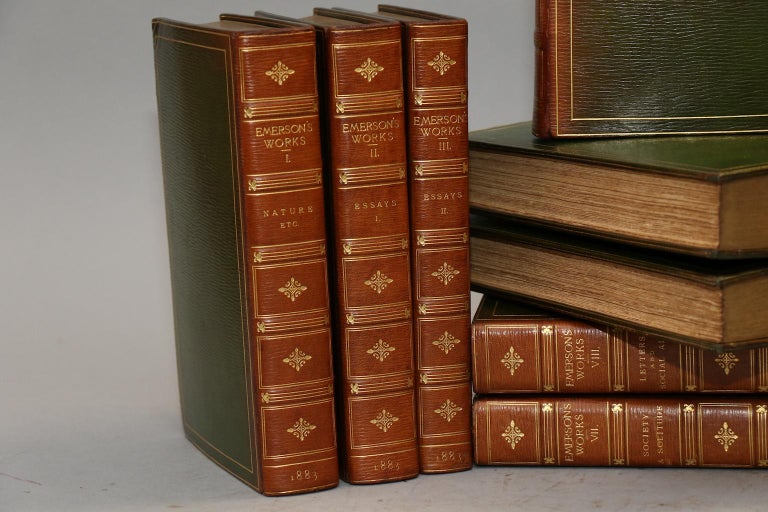 English Books, Ralph Waldo Emerson's Complete Works For Sale