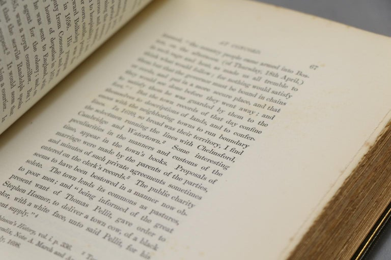 Leather Books, Ralph Waldo Emerson's Complete Works For Sale