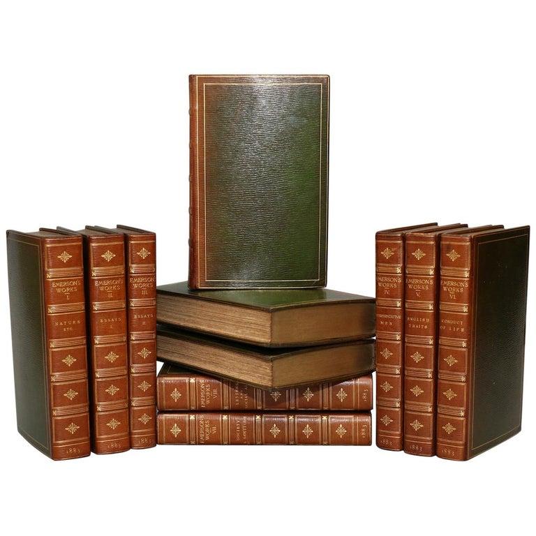 Books, Ralph Waldo Emerson's Complete Works For Sale