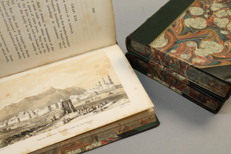 Books, Richard F. Burton's 'Pilgrimage to Al-Madinah & Meccah' In Good Condition For Sale In New York, NY