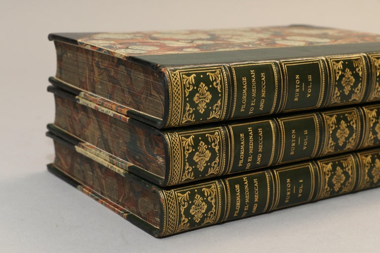 Mid-19th Century Books, Richard F. Burton's 'Pilgrimage to Al-Madinah & Meccah' For Sale