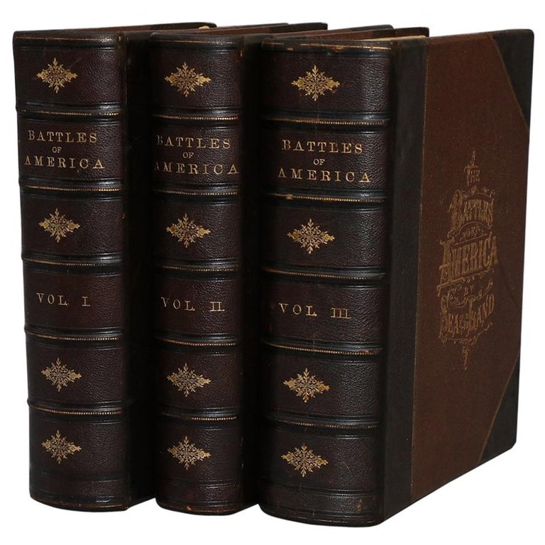 "Books, Robert Tomes' ""Battles of America by Sea and Land"" For Sale"